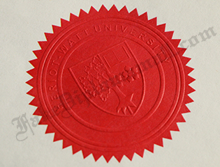 Heriot-Watt University Red Seal