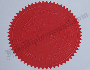 RMIT Fake Stamp