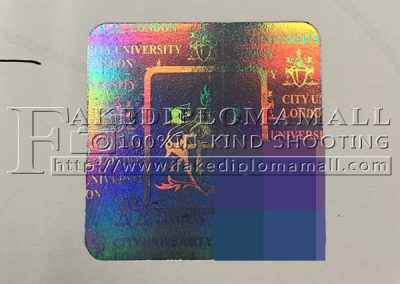 City University London Hologram