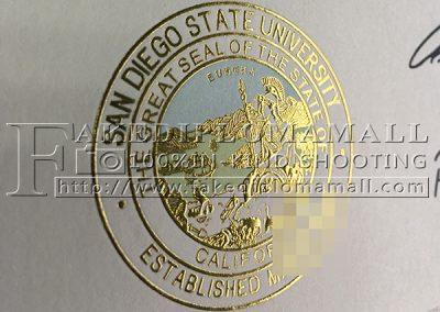 SDSU Gold Foil