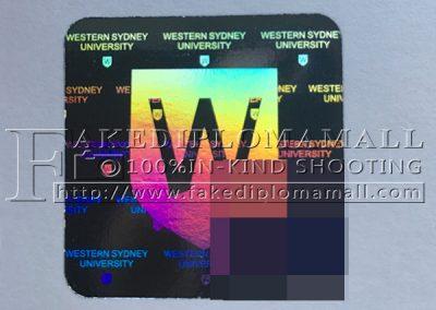 Western Sydney University hologram