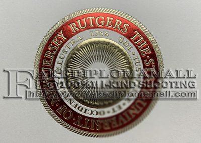 Rutgers University Embossed Seal