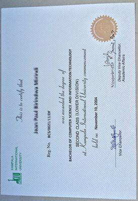Can You Buy A Fake Kampala International University Degree?