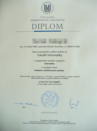 Where To Buy A Fake Masaryk University Degree in Czech?