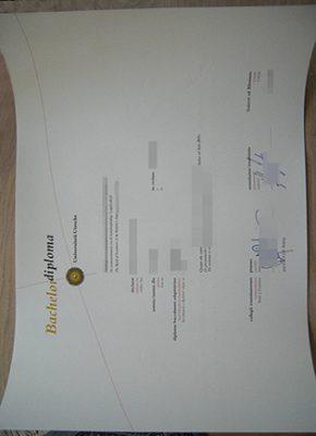 Buy Utrecht University Fake Diploma Online