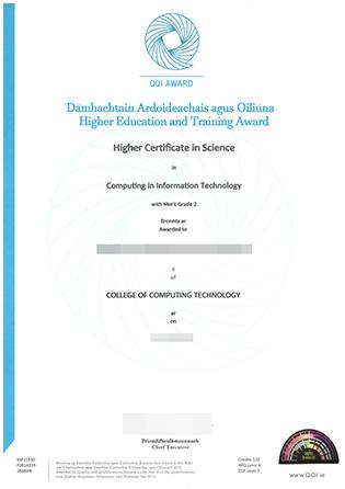 How To Replicate My QQI Award Certificate