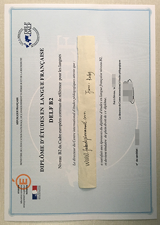 Buy Fake DELF Diploma From France