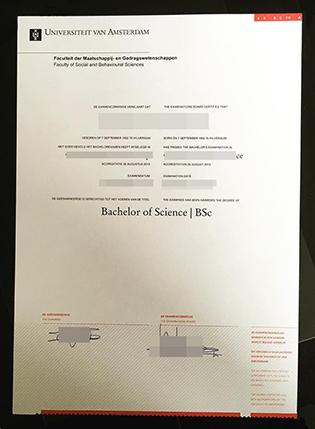 Where To Buy Universiteit Van Amsterdam (UvA) Fake Diploma