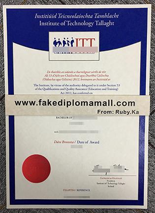 Institute of Technology Tallaght Fake Degree, ITT Dublin Fake Diploma