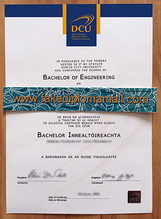 Can I Buy Fake Dublin City University Degree Certificate in Ireland?