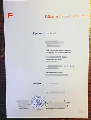 Now You Should Know the Tips of Getting Folkwang Universität der Künste Fake Dploma