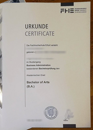 The Only Way to Get Your Fachhochschule Erfurt Bachelor Fake Diploma