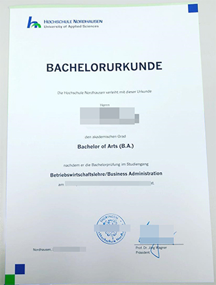 Who Provide the Fachhochschule Nordhausen Diplom? – Hochschule Nordhausen Fake Diploma
