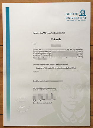 Everybody Should Know the Uses of Goethe-Universität Frankfurt Diploma