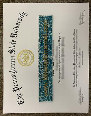 Pennsylvania State University degree, buy masters degree from USA