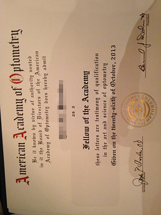 How To Get The American Academy of Optometry/AAO Certificate