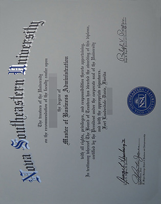 How To Buy Nova Southeastern University MBA Degree?