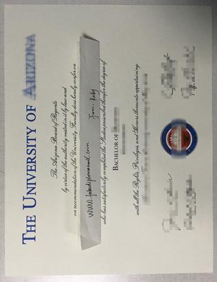 Buy A Fake Degree From University of Arizona (UA)