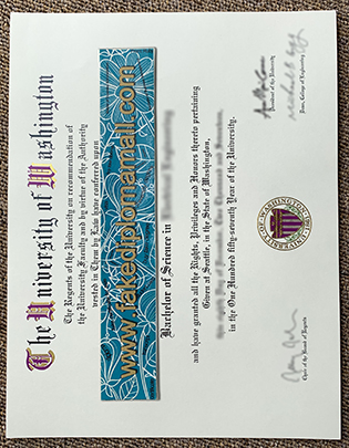Buy UoW Fake Degree, Buy University of Washington Diploma