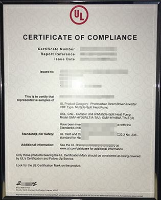 Fake UL Certification For LED Lamps, Fake Certificate For Sale