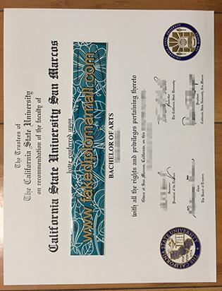 Study At CSUSM, Buy CSU San Marcos Fake Diploma