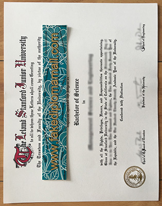 Buy Stanford University Fake Degree Certificate – Stanford Fake Diploma
