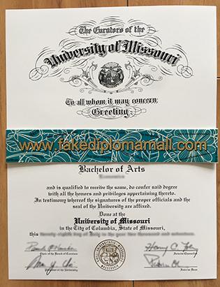 Where To Buy University of Missouri Columbia Fake Diploma?