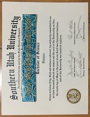 Would Like To Replicate Southern Utah University Diploma Copy