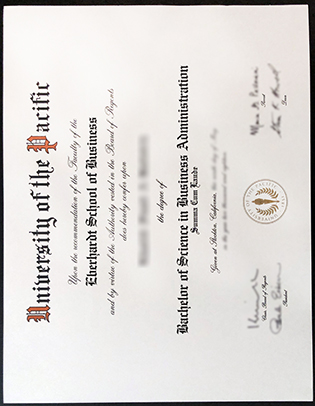 What A Famous Method to Buy University of the Pacific Fake Diploma?