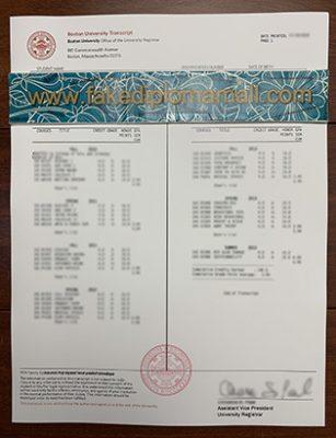 BU Fake Transcript Sample For A View, Buy A Fake Boston University Transcript