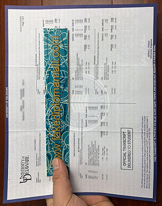 How To Get a Fake University of Delaware Transcript?