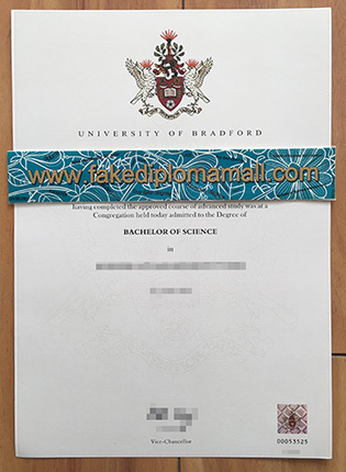 Fake University of Bradford Degree Certificate, How To Buy UK Diploma?