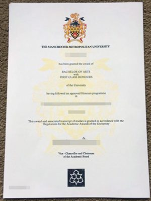 Fake Manchester Metropolitan University Degree, Buy UK Degrees