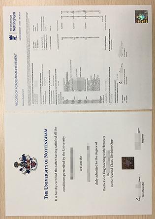 Buy A Fake University of Nottingham Degree, Buy UK Degree Certificate