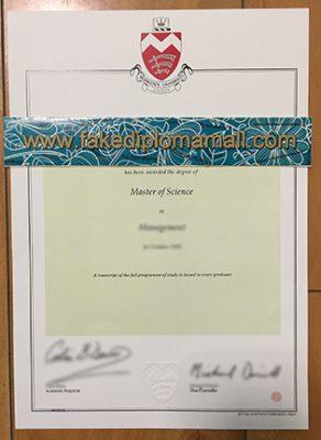 Middlesex University Fake Degree Sample – UK Degree Certificates
