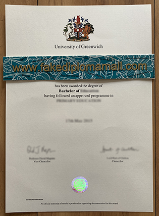 Buy A Fake University of Greenwich Degree With Transcript