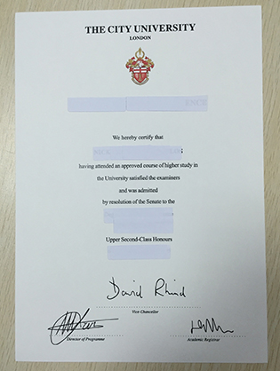 How To Buy A Fake City University London Degree From UK?