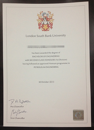 Need A Fake London South Bank University (LSBU) Degree Urgently?