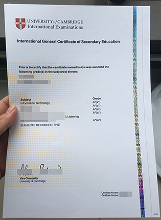 Where to Buy Fake IGCSE A Level Certificate?