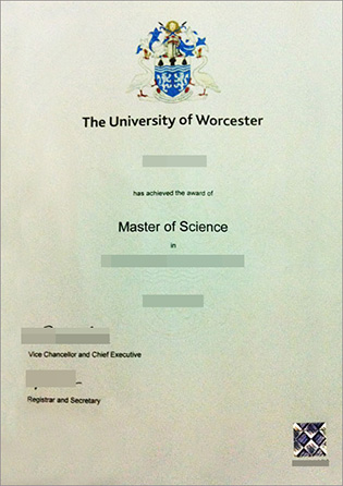 Buy a MSc Degree From University of Worcester
