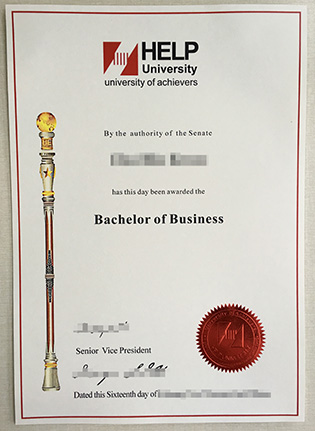 HELP University College Business Degree From Malaysia
