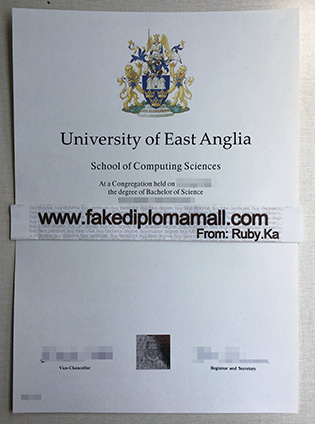 Buy University of East Anglia Fake Degree Certificate