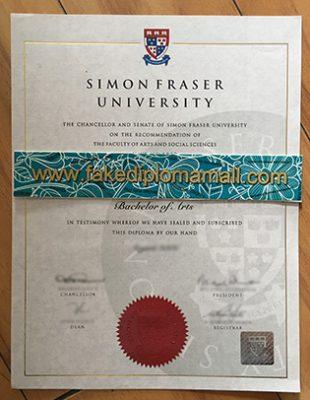 Simon Fraser University Fake Diploma, Where To Buy Canadian Degree?
