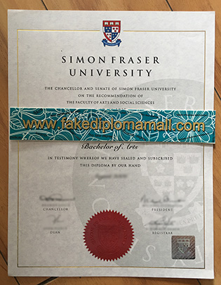 Simon Fraser University Fake Diploma, Where To Buy Canadian Degree?