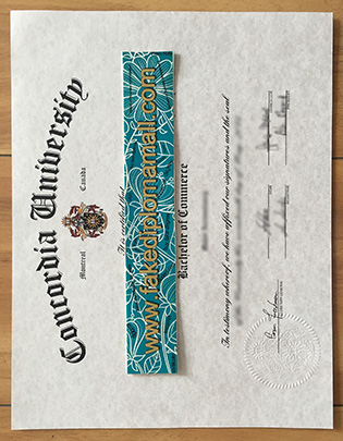 Concordia University Diploma, How to Buy Concordia Fake Diploma?
