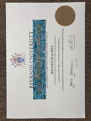 Ryerson University Diploma, Where to Buy Canadian University Fake Diploma?