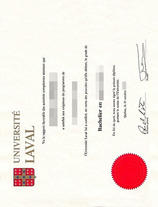 Université Laval Diploma or Laval University Degree