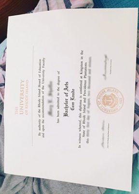 Buy The University of Rhode Island (URI) Fake Degree Certificate