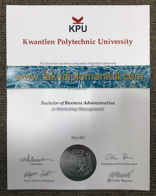 Fake KPU Degree, More and More Popular in Canada