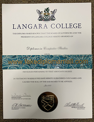 Can I Buy a Fake Diploma From Langara College?